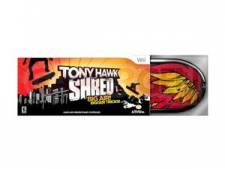tony hawk shred wii jaquette