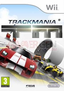 trackmania wii jaquette