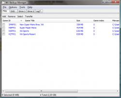 Wii Backup ManagerUn nouveau gestionnaire de disque dur très complet