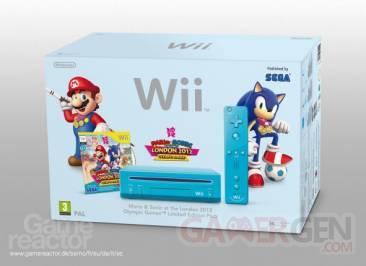 Wii Bleu Mario & Sonic