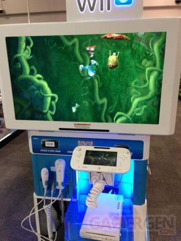 Wii U Borne demo essai FutureShop Rayman Legends 01