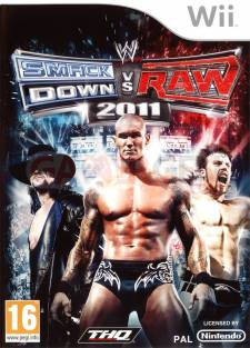 wwe smackdown vs raw 2011 wii jaquette